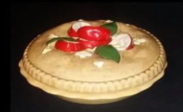 AB 669 Vintage Ceramic Apple Pie Container with Lid - $68.55