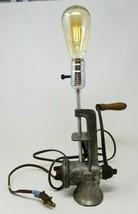 Vintage Steampunk Meat Grinder Table Lamp Art Deco Boyertown Edison - €36,51 EUR