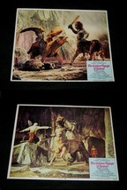 2 Original Ray Harryhausen GOLDEN VOYAGE OF SINBAD Lobby Cards CENTAUR G... - $34.29