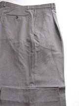 (T244) Mint Armani Collezioni Light Vibrant Wool Olive Italian Pants - 34 X 30 - $46.03
