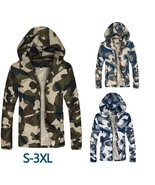 Men's Fashion Casual Camouflage Thin Jacket Male Slim Fit Spring Autumn Outwear  - $44.88