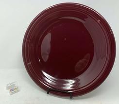"Fiesta Claret (Wine / Burgundy Color) Dinner Plate 10 1/2"" Diameter - Nice! - $7.99"