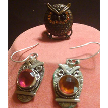 SWEET! Owl Jewelry Set~What a Hoot!:) - $14.85