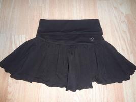 Youth Girls Children's Place Sz 8 Black Squarts Skirt (A) - $9.49