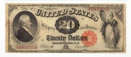 1880 $20 United States Note Fr #147 Graded by PMG as Fine 12 image 2