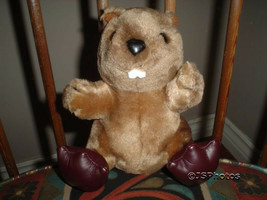Dakin Vintage 1987 Beaver Stuffed Plush - $67.50