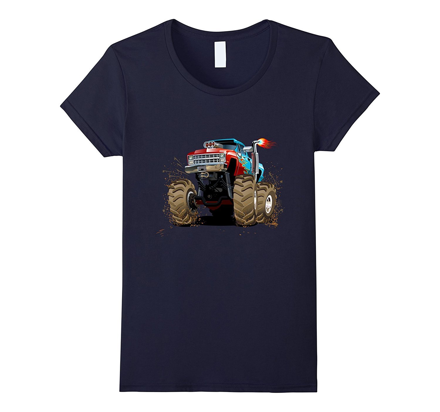 Diesel Monster Truck T-Shirt Bigfoot Trucking Diesel Big ...