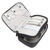 Teamoy Jewelry Travel Case, Jewelry & Accessories Holder Organizer for N... - $22.44