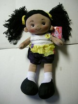 "Rag Doll, ""Aissa,"" By Linzy Toys, 17"", Brand New - $17.99"