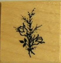Vintage PSX 1994 Rosebush Rubber Stamp #B-1329