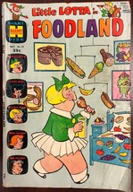 LITTLE LOTTA IN FOODLAND #22 (1970) Harvey Comics Giant Size G/VG - $9.89