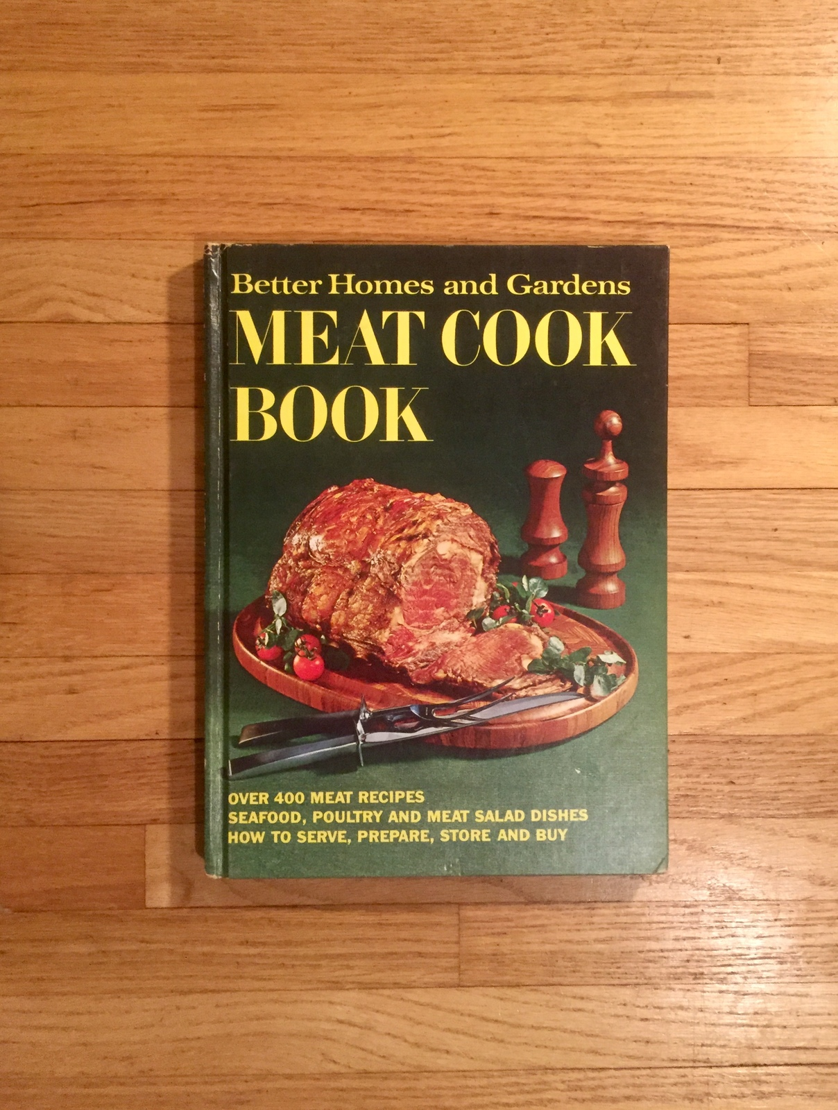 Vintage 1970 Better Homes and Gardens Meat Cook Book- hardcover