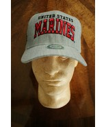 USMC US MARINE CORPS UTILITY WORK COVERALL UNIFORM BALLCAP BALL CAP HAT ... - $21.77