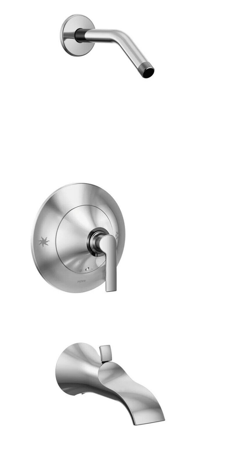 Moen TS3203NH Doux Tub and Shower Trim Package - - Chrome - $84.14