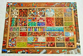 Bead Collection 1000 Piece Jigsaw Puzzle Colorful Eurographics - $16.82
