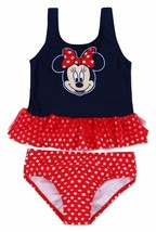 MINNIE MOUSE UPF-50+ Tankini Swim Bathing Suit NWT Toddler's Size 2T or ... - $16.99