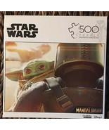 Buffalo Games Star Wars The Mandalorian Baby Yoda 500 Pc Jigsaw Puzzle NEW - $29.70