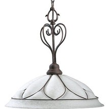 Cobblestone Finish Hanging Pendant Hall Foyer Entry Progress Lighting P5... - $143.99