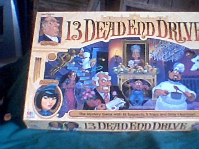 Primary image for 13 Dead End Drive Board Game 100% Complete Pre-owned  Milton Bradley Board Game