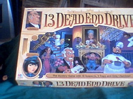 13 Dead End Drive Board Game 100% Complete Pre-owned  Milton Bradley Board Game - $20.00