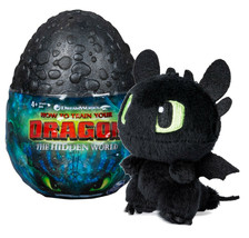 """How To Train Your Dragon The Hidden World Baby Toothless Dragon 3"""" Plush in Egg - $14.88"""