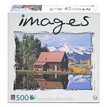 "500 Piece - 19"" x 14"" - ""Rustic Cabin, Colorado"" - Images Series - SURE-... - $19.59"