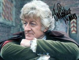 Jon Pertwee Signed Photo Dr 8X10 Rp Autographed ** Doctor Who - $19.99