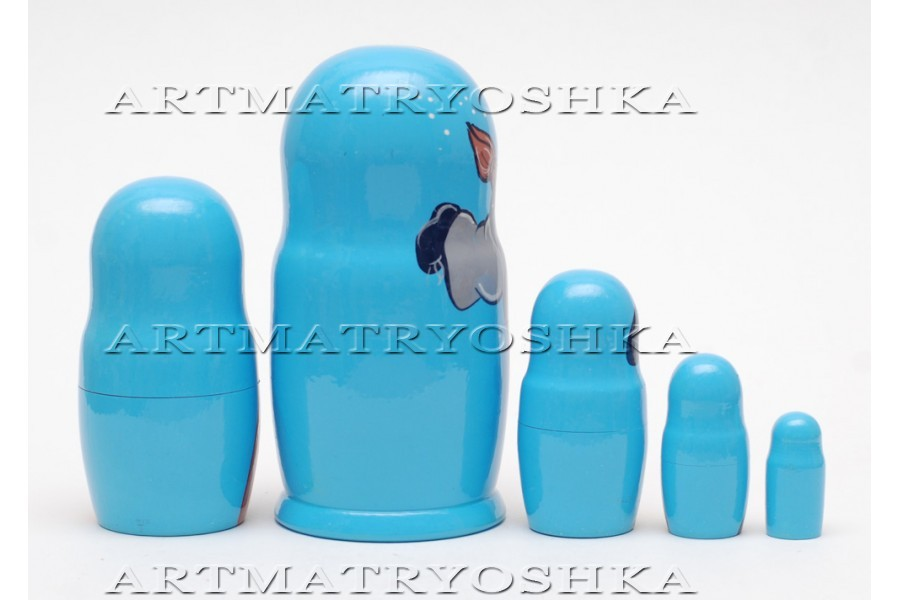 Matryoshka nesting doll Harry Potter1 babushka Free worldwide shipping, 6.8""