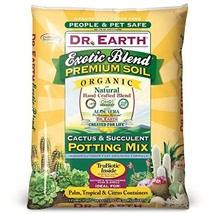 Dr. Earth 749688008105 810 Exotic Cactus & Succulent Soil, 8 Quart - $35.70