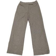 Ann Taylor LOFT Women's Brown Tweed Wool Dress Pants Sz 6 - $10.89
