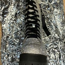 NEW In BOX Billionaire Bling Boot Club Exx Size 7 WOW! SHIIINYYY image 4