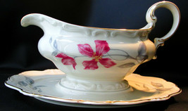 Rosenthal Pompadour Beatrice Gravy Boat Attached Under Plate - $39.59