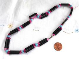 Bead String Czech Bohemian Glass Beads 1930s Jewelry Supply 17 Inches Ne... - $18.00