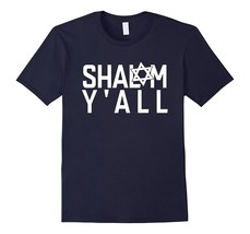 SHALOM Y'AL T-Shirt Tee Funny Jewish Israel Gift Design Idea Men - $17.95+