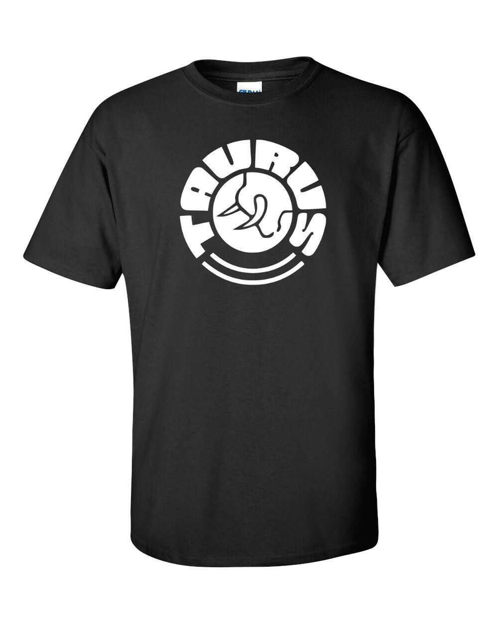 Taurus Firearms White Logo T Shirt 2nd Amendment Pro Gun Rights Rifle Pistol Tee