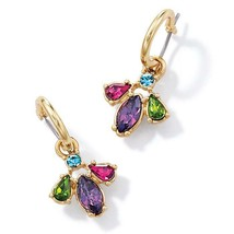 Avon Pretty in Paradise Hoop Earrings - $14.85