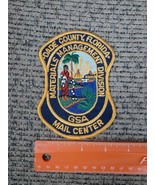 Vintage Dade County Florida Materials Management Mail Center Iron on Pat... - $19.60