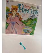 Pretty Pretty Princess Jewelry Board Game 1999 PARTS/REPLACEMENT blue ea... - $3.00