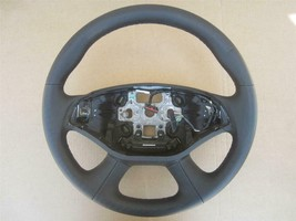 OEM 2014 2015 Chevy Impala Steering Wheel Black Leather Without Heated Option - $59.95