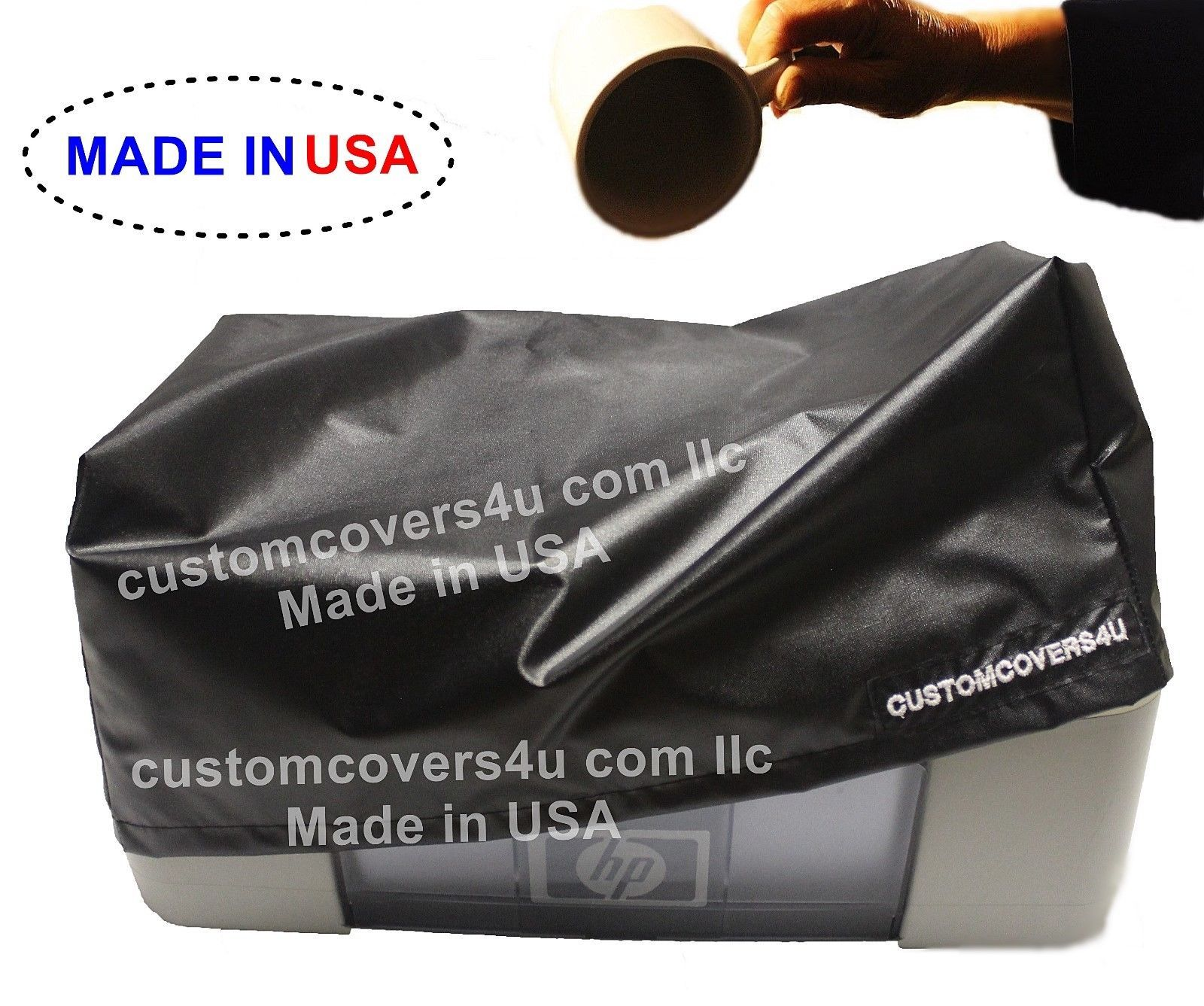 Brother HL-3180CDW PRINTER DUST COVER WATER REPELLENT + EMBROIDERY ! USA - $18.99