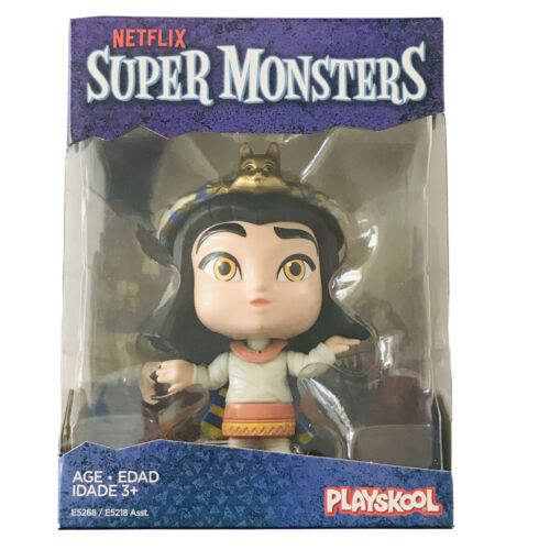 Netflix Super Monsters Cleo Graves Collectible 4-inch Figure - PlaySkool New - $8.88