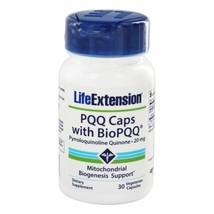 Life Extension PQQ Caps with BioPQQ 20 mg., 30 Vegetarian Capsules - $27.79