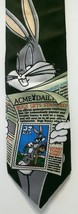 Looney Tunes Bugs Bunny USPS Stamp Tie Post Office Stamp Collection Cartoon - $21.03