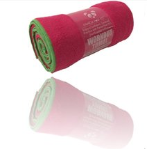 Yoga Towel Non-Slip Insanely Absorbent Microfiber, Protect Your Yoga Mat... - $14.95