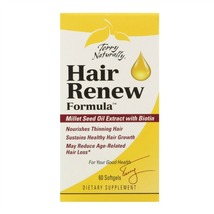 EuroPharma/Terry Naturally - Hair Renew Formula - 60 Softgels - $32.76