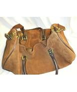 Vintage Marlboro Genuine Leather Duffel Bag  - $84.15