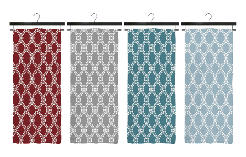 "Case of [12] Janet Deluxe Ultra Plush Flannel Throws - 50"" x 70"" - Grey"
