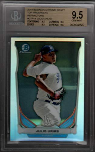 Primary image for JULIO URIAS 2014 Bowman Chrome Refractor Draft Top Prospects #CTP14 Rookie RC BG