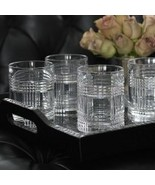 Ralph Lauren Glen Plaid Double Old Fashioned Glasses 4 - $74.00