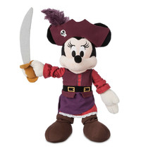 "Disney Parks Minnie Mouse Pirates Of The Caribbean 11"" Plush Doll New - $29.07"